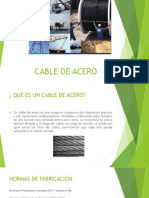 Cable de Acero Present