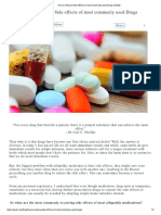 How to Reduce Side Effects of Most Commonly Used Drugs _ GOQii