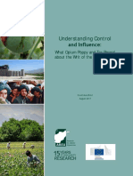 Understanding Control and Influence - What Opium Poppy and Tax Reveal about the Writ of the Afghan State - David Mansfield 2017