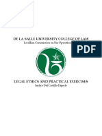 legal Ethics and Practical Exercises