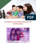 IPCC Classes,CA Intermediate Classes,CA Inter Coaching Classes
