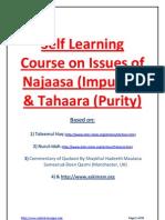Basic course on Tahara (Purity) according to Hanafi Madhab
