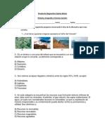 Prueba de Diagnostico 5° 2015