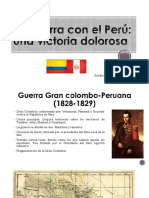 Unidad 7 La Guerra Con El Perú - Jackeline Henao Vargas