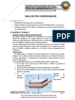 Descarga de Un Condensador Informe 3