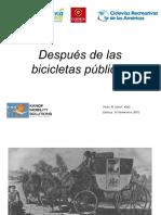 VII Congreso de Red de Ciclovías Recreativas de las Américas - Cuenca, Ecuador.  November 15-18, 2012