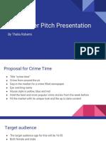newspaper pitch presentation  1