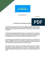 Communication La République En Marche