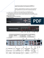 Fast Manual Instructions for Economic DVRV1.1