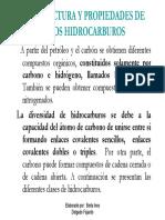 Estructura y Propiedades de Los Hidrocarburos-2008