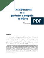 Iglesia Parroquial Purísima Concepción. Joan m