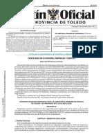 Convenio Colectivo Metal Toledo 2017-2020,