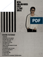 Chasing Yesterd - Booklet