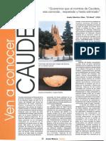 Ven a conocer Caudete. (Revista Costa Blanca, Nº 86, Octubre 2.000)
