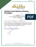 Khatme Khwajagan in Urdu PDF
