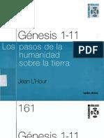Genesis 1, 11. Los pasos de la - L HOUR, Jean.pdf