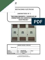 LABORATORIO N° 3 SUBESTACIONES ELECTRICAS