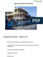Temporary Works Presentation