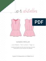 Sandra Peplum Spit Up Stilettos