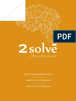 2Solve Brochure 2018