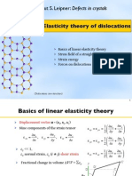 Defects Elasticity Theory