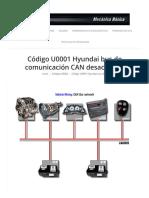 Código U001 desactivado bus de comunicacion | Mecánica Básica.pdf