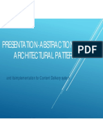 Presentation-Abstraction-Control  for content delivery networks
