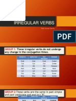 Group of Irregular Verbs