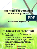 PARENTING SEMINAR- Hopes and Challenges