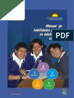 Cuestionario de Habilidades Sociales - Ministerio de Educacion