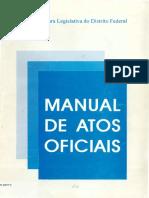 Manual de Atos Oficiais 2. Ed. 1999