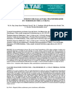 Sistema de Diagnóstico de Fallas Para Transformador en Termoeléctrica Cubana