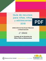 CDNNyA (CABA) - Guía de Recursos 2018