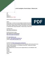 Elise Lucet Sans Filtre, Cash Investigation, Panama Papers, s