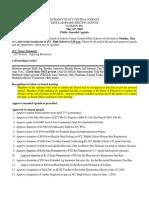 JCC Board May 21 Agenda