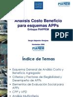 6 El Enfoque de Costo Beneficio Para Proyectos APPs