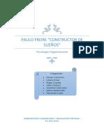 Paulo Freire Constructor de Sueños