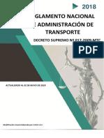 D.S. 017-2009-MTC 2018