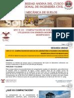 CLASE VIII - COMPACTACIÓN DE SUELOS EN LABORATORIO.pdf