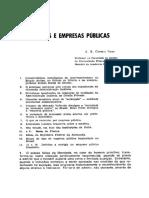 Atarquias e Empresas Publicas
