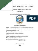 Proyecto Adecuado a Nuevo Reglamento 2018 Abril