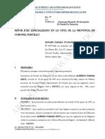 INSCRIPCIÓN DE PARTIDA DE DEFUNCIÓN