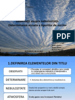 Observatii Asupra Norilor (2)