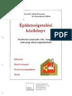 Épületszigetelési kézikönyv I. kötet
