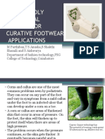 Eco Friendly Functional Finishes for Curative Footwear Applications