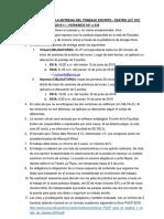 Instrucciones de Trabajo Escrito (Teatro 631 y 634)