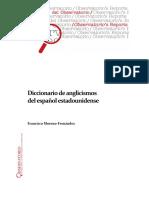 Diccionario de Anglicismos Del Español de EEUU (Enero 2018)