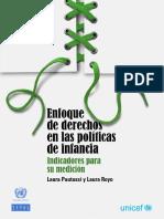 CEPAL - Enfoque de Derechos en Las Políticas de Infancia; Indicadores Para Su Medición