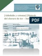 11 - 12. Compuestos carbonílicos. Aldehídos y cetonas - Haluros de alquilo. Síntesis del cloruro de ter-Butilo.docx