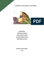 Rol de Doula en El Parto Natural o Por Cesarea